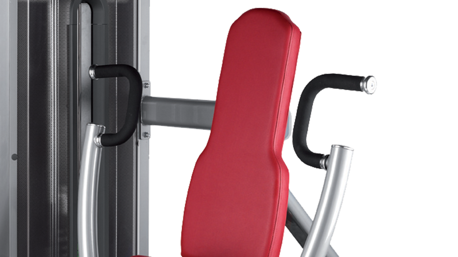 Press vertical de pecho y tríceps