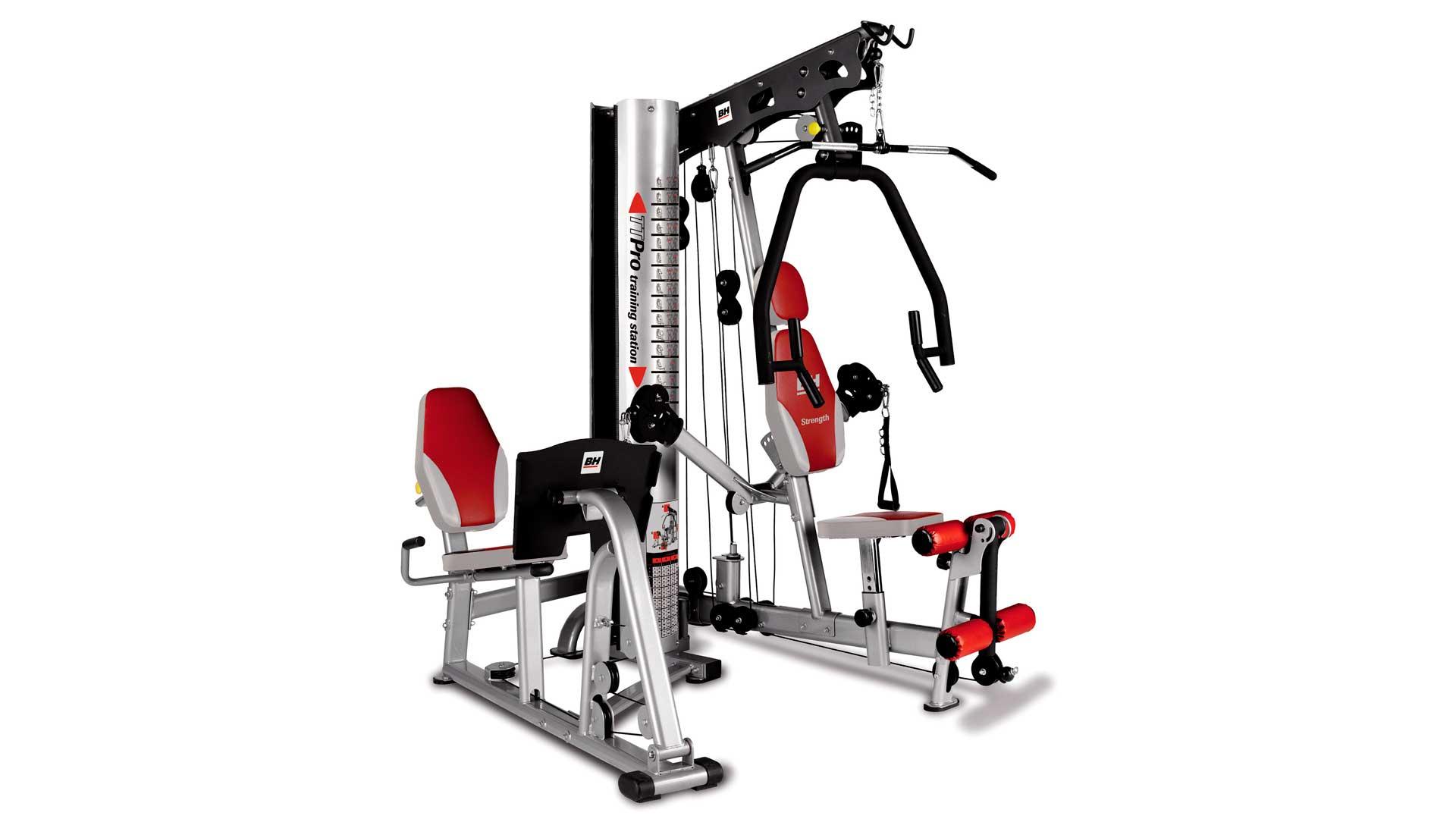 Multiestaci n tt pro i uso semi profesional i bh fitness for Aparatos de gym