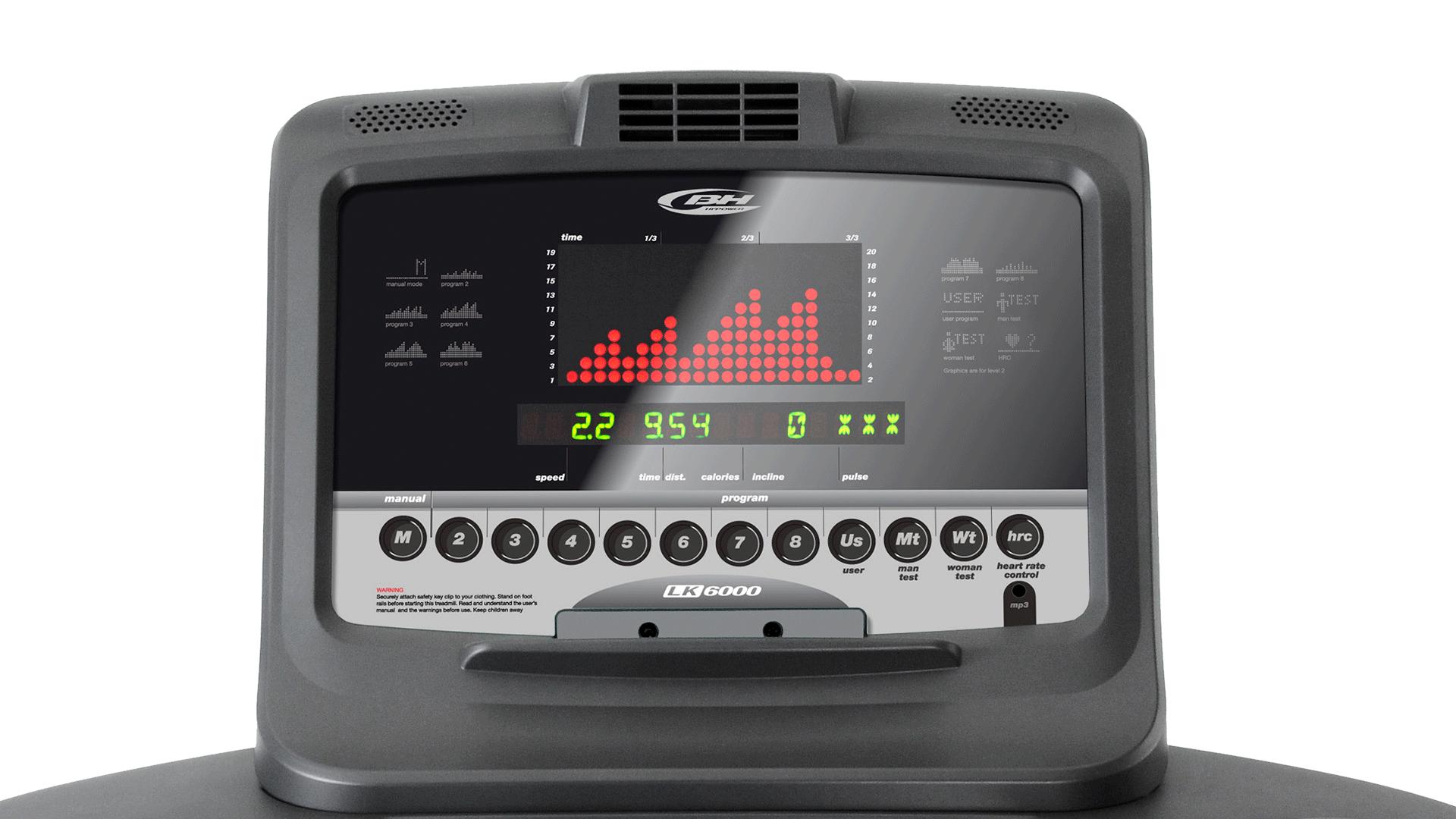 LK5500 cinta de correr profesional
